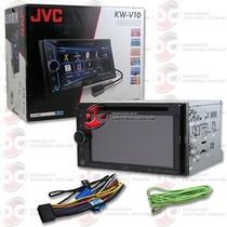 Jvc Kw-v10 Radio Dvd 2 Din Usb Aux 6.1 Touch App Link