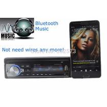 Radio Carro 2015 Bluetooth Mp3 Usb Fm , Aux In,manos Libres