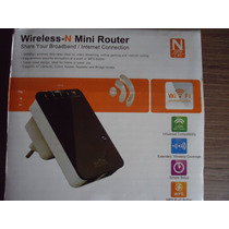 Mini-repetidor Y Amplificador De Señal Wi-fi. Excelente.