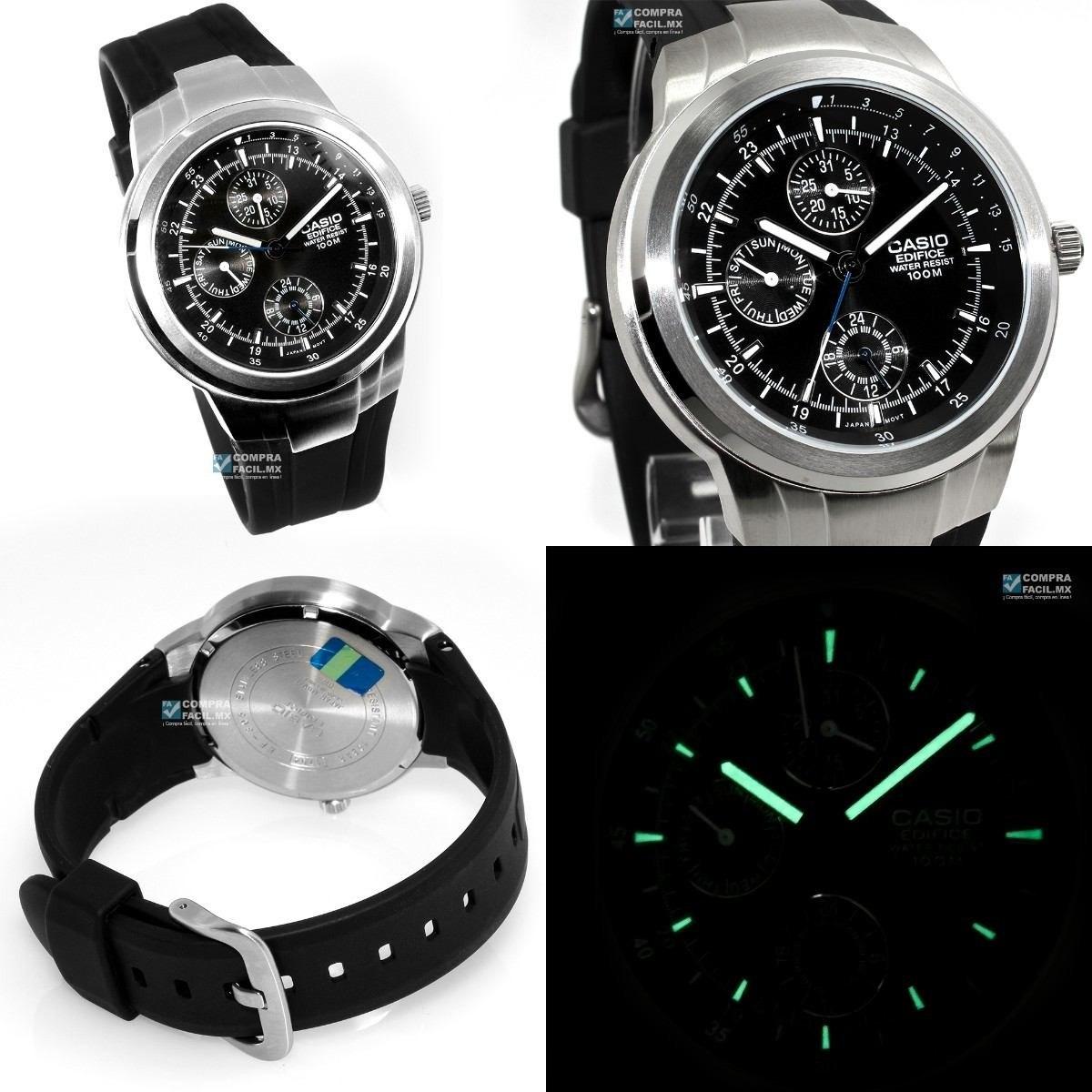 Reloj Casio Ef 305 1a Hombre, Pulso En Goma - $ 144.900 en