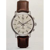 Reloj Cronógrafo Bmw Impecable, Pulso De Cuero, Espectacular