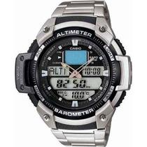 Reloj Casio Sgw 400 Acero Altimetro,barometro,termometro+obq