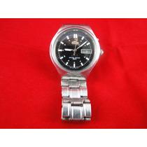 Permuta Cambio Reloj Orient Hombre Clasico Tablero Negro