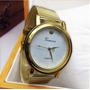 Relojes De Oro Para Mujer Súper Práctico Y Casual