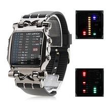 Reloj Hombre Led Digital Tipo Matrix Oferta 2x1* Envio Grati