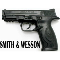 Pistola Smith & Wesson M&p Con Mira En Fibra Optica -potente