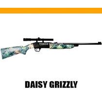 Rifle De Aire Daisy Grizzly - Dispara Copas Y Balines + Mira