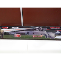 Rifle De Aire Gamo Varmint Hunter 4.5mm Laser+linternar+mira