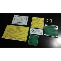 Renault 4,5,6,9,12,19 Set De Calcomanias O Stickers