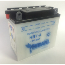 Bateria Hibari Yb7-a 12v 8ah Akt Evo Piaggio Suzuki