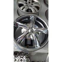 Rin Cromado 18 Pulg 6 H Para Toyota Nisaan Mitsubishi Mazda