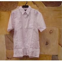 Camisa Guayabera Nueva En Tallas S M L Xl Realizo