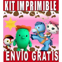 Kit Imprimible Sheriff Callie Diseña Invitaciones & Tarjetas