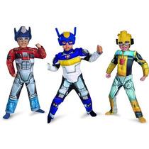 Disfraz Transformers Rescue Bots Bumblebee - Tallas 2 A 6