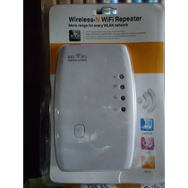 Repetidor Amplificador De Señal Wifi 300mbps 2dbi Wireless N