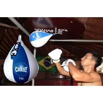 Pera De Boxeo De Techo En Cuero: Caray 1 Año Garantía