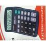 Calculadora 12 Digitos Negra + Baterias + Obsequio
