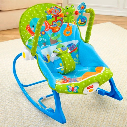 Silla vibradora mecedora fisher price crece conmigo safari for Silla antireflujo