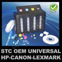 Sistema Tinta Continuo Impresora Cartucho Hp Canon Lexmark
