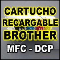 Cartuchos Recargables Impresoras Brother Lc51 Lc61 Lc71
