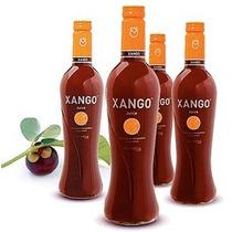 Caja De 4 Botellas De Jugo De Mangostan Xango