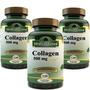 Colágeno En Cápsulas 3 Frascos X120caps C/u Medical Green