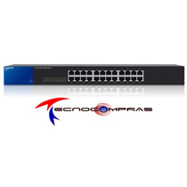 Switch 24 Puertos Linksys Se3024 Gigabit No Administrable