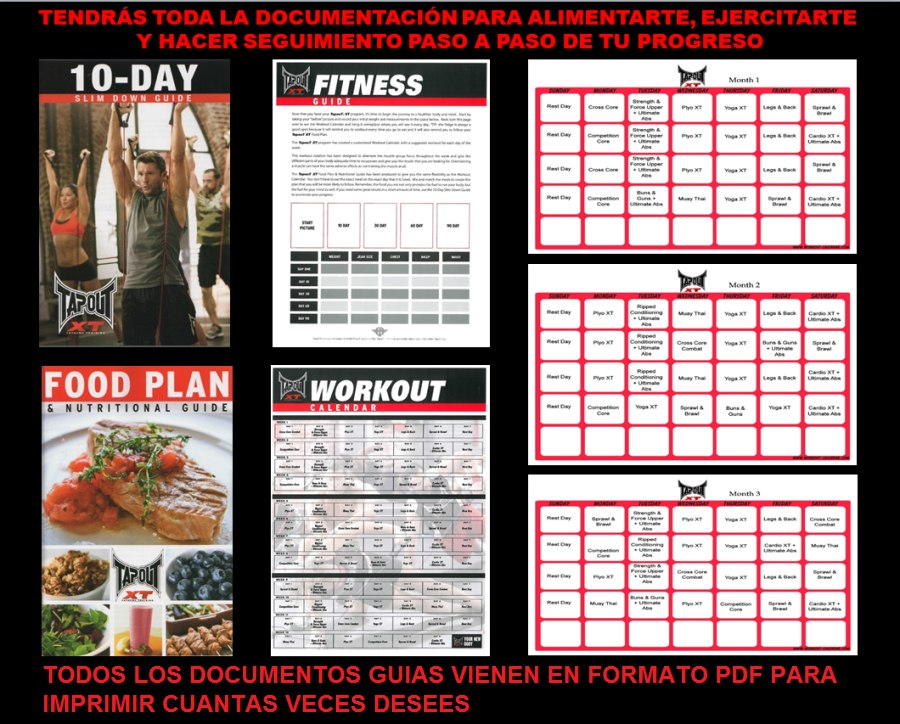 Tapout Xt Workout Schedule | Calendar Template 2016