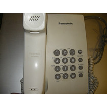 Telefono Panasonic Kx-ts500lxw Buen Estado Color Blanco