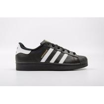 Zapatillas Tenis Adidas Superstar Negras Edición Especial