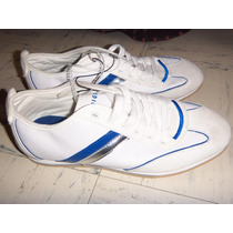 Zapatillas Tommy Hilfiger Blancos Cuero $ 149,990.t8