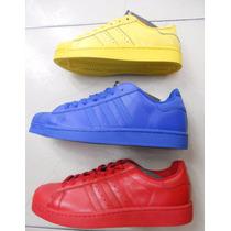 Tennis Tenis Adidas Superstar Dama Ultimas!!