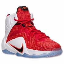 Zapato Bota Basketball Nike Lebron Xii Talla 7