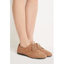 Zapatos Forever 21 Dama Estilo Mocassin - Marron