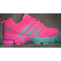 Tenis Zapatillas Adidas Marathon 21 Mujer