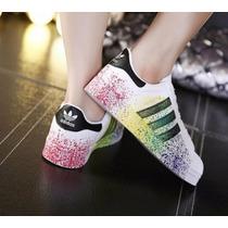 Adidas Superstar Clasicas Sello Dorado