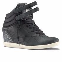 Zapatillas Altas Reebok Dama Freestyle Wedge 100% Originales
