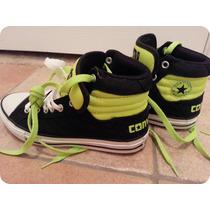 Tenis Converse Botas Zapatillas Verdes 33