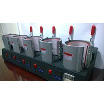 Máquina Sublimación De 5 Mugs