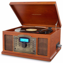 Tocadiscos Crosley Trobador Graba Discos A Cassete Usb Cd