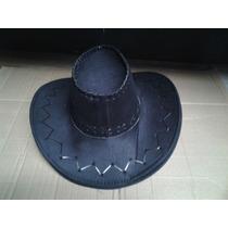 Sombrero Vaquero Disfraz Halloween Ferias Negro Cafe Beige