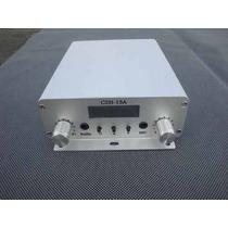 Kit Transmisor Fm 15w +antena Gp 1/4 De Onda +adaptador