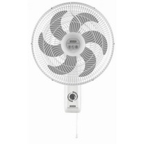 Ventilador Turbo De Pared Marca Samurai - Color Blanco - Ide
