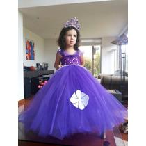 Hermoso Vestido Tutu Princesa Sofia Tutus Aurora Bella.