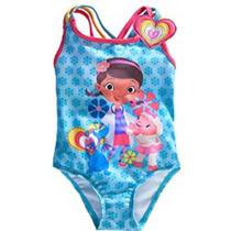 Vestido De Baño Doctora Juguetes Disney Store Talla 4 Y 7/8