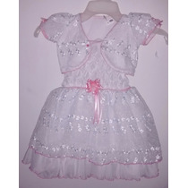Vestidos De Bautizo Para Niña Talla Única 1