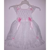 Vestidos De Bautizo Para Niña Talla Única 3