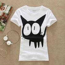 Blusa Gato Negro Talla S Original Tienda Virtual Fvs