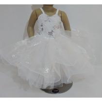 Vestidos De Bautizo Para Bebe Niña Talla 1 Nuevo