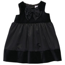 Vestido Carter`s Negro Fiesta Niña Talla 24 Meses Ropa Bebe